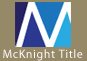 link to mcknight title company website